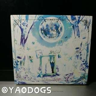 天月Hello,World!CD+DVD初回限定盤 內附故事本
