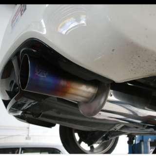 FD2R Honda Civic Type R Exhaust