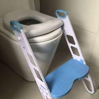 Child ladder toilet seat