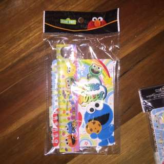 Sesame street note pad set