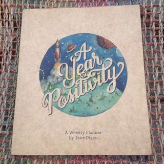 A Year of Positivity (A weekly Planner)