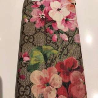 Authentic GUCCI Blooms iPhone 6 Plus Case $300 Prada Chanel givenchy hermes balenciaga