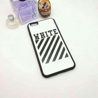 Off White Case 💫 iPhone 5/5s/se/6/6s/6+/6s+