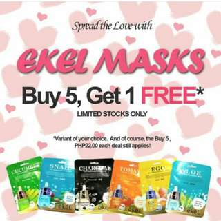 BUY 5 TAKE 1 EKEL MASKS