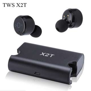 X2T Wireless Bluetooth Earbuds Earphone Headset Charger Box