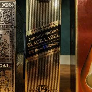 Old Johnnie Walker Black Label Extra Special