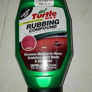 Turtle wax(rubbing compound)
