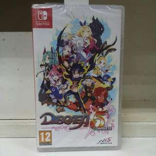 Switch Disgaea 5