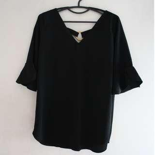 Black Bell Sleeves