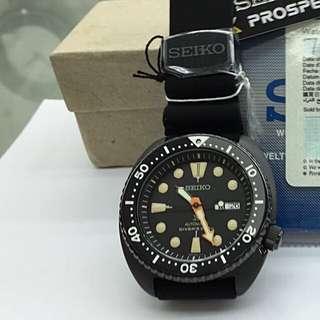 Seiko Prospex Black Turtle SRPC49K1