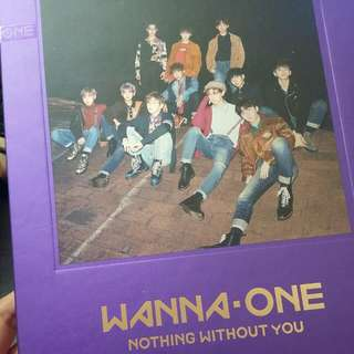 Wanna one Nothing Without You WANNA VER.紫色淨專