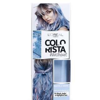 L'OREAL PARIS COLORISTA 2-Week Washout Colour - Blue 80ML
