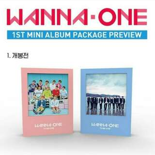 **new slot [FAST ORDER] WANNA ONE TO BE ONE