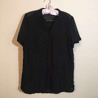 Black long shirt for women brand new without tag