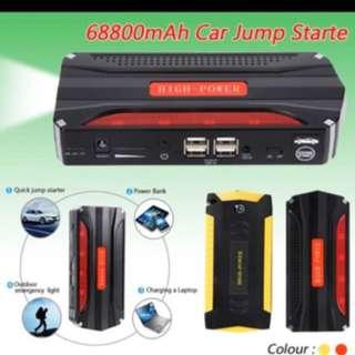 68800mAh 12V Petrol Diesel Multi Function Car Jump Starter 4 USB Powerbank SOS Light 600A Peak Car Battery Charger