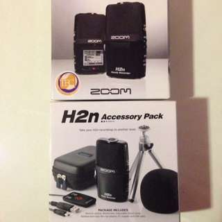 Zoom H2next & H2n Accessory Pack