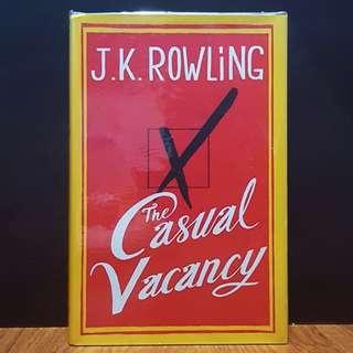 The Casual Vacancy J. K. Rowling [Brand New | Hardback]
