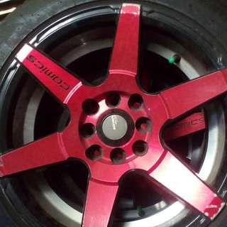 Velg Ring 16murah ex avanza.  Merk ADVAN Racing Comics