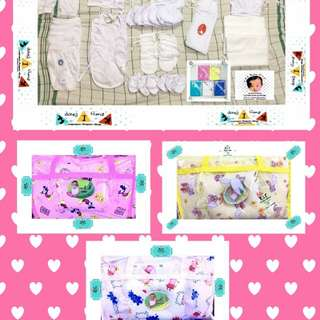 Newborn Clothes with 4in1 Cribset