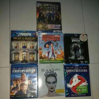 Blu ray  Boxset movies bluray