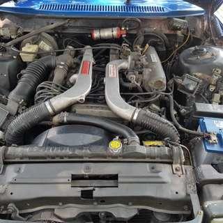 Enjin toyota 1GTE TWIN TURBO