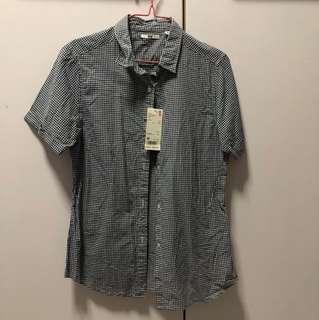 Uniqlo checker shirt