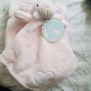 Cute baby towel / baby girl gift / baby shower gift