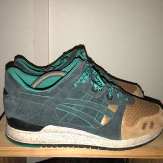 "Asics gel lyte iii x concept ""Three lies"""