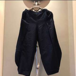 Aladin Pants Dark Navy FREE SIZE