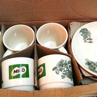 Milo Kopitiam Cup & Saucer