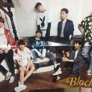 Block b雙面poster
