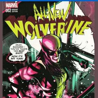 All-New Wolverine 2 Lopez Variant