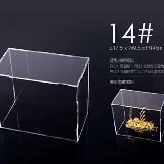 Acrylic display box for miniatures - 14#