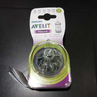 Philips Avent Teats Natural (9 Months+ / 5 holes)