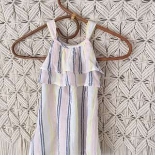 Boho BNWT Country Road girls dress size 2 stripes