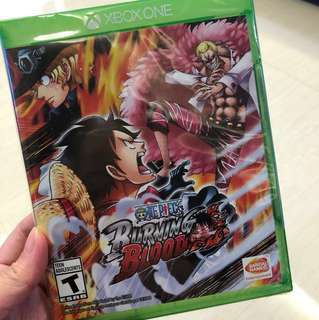 New! Xbox One One Piece Burning Blood