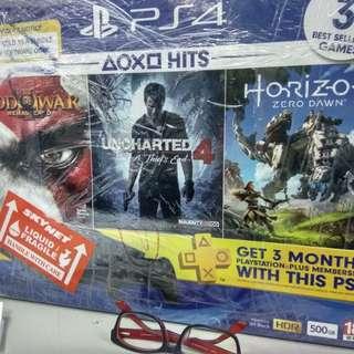 PS4 Hits Combo Free 3 games