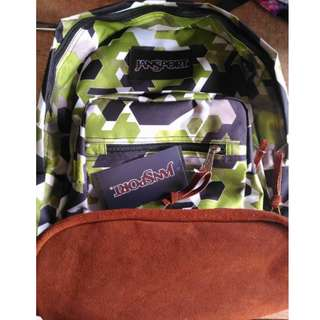 Jansport Future Camou Rightpack Leatherbottom