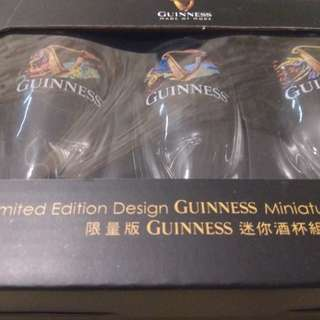 Guinness miniature glass set