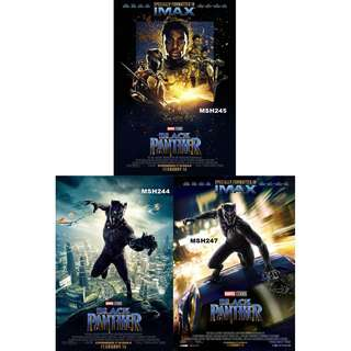 BLACK PANTHER MOVIE POSTERS (PART 2)