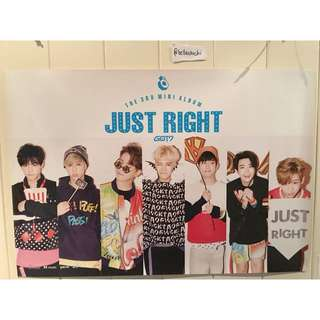 [POSTER] GOT7 JUST RIGHT