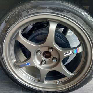 Sport rim ssr type C Cutting original