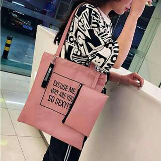 waterproof tote bag with pouch