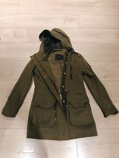 Army green Jacket (80% NEW)