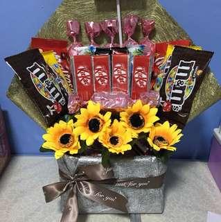Chocolate table arrangement
