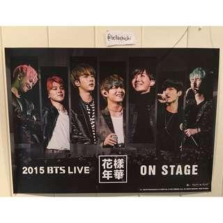 [POSTER] BTS LIVE 2015