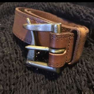 Brand name NEW leather belt