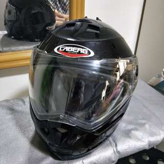 Helmet Caberg Full face with free anti fog fitted visor