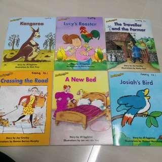 K2 Reading books