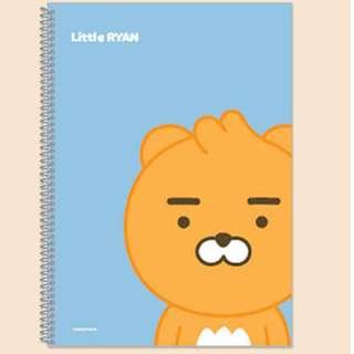 ❗️❗️獨家款❗️❗️《保證正版韓國製》超可愛的KAKAO FRIENDS 筆記本 新品上市特價中(現貨)